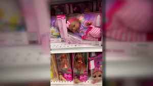Controversy Over 'Lazy Baby' Dolls Sold at Grocery Stores [Video]