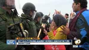 Judge rules on border demonstrators' case [Video]