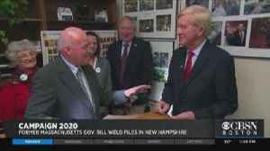 News video: Weld, Warren Filing For NH Primary Wednesday