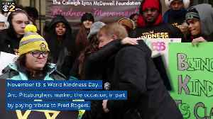 News video: Pittsburghers Celebrate World Kindness Day By Honoring Mister Rogers