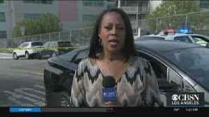 Sword-Wielding Suspect Shot, Killed By Deputies At East LA School [Video]