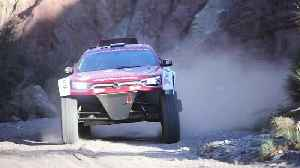 SsangYong Korando DKR in action [Video]
