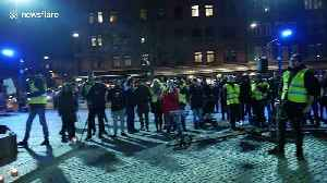 Protest against gun violence in Malmo after 15-year-old shot dead outside pizzeria [Video]