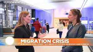 European Council on Refugees blames Greece for islands migrant crisis [Video]