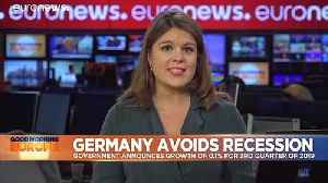 Germany narrowly avoids recession with suprise GDP figures [Video]