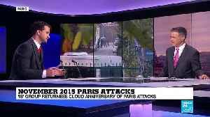 "November 13th: ""IS"" group returnees cloud anniversary of Paris attacks [Video]"