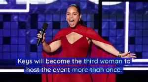 Alicia Keys to Host 2020 Grammy Awards [Video]