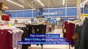 Walmart Releases Black Friday Ad With Top Deals [Video]