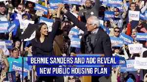 Bernie Sanders and AOC Reveal New Public Housing Plan [Video]