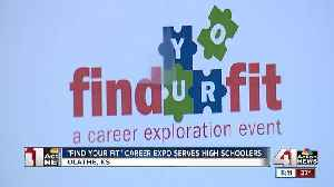 Career expo gives high school students hands-on experience [Video]