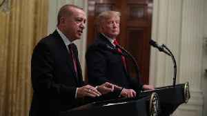 Trump And Erdogan Hold Joint Press Conference At White House [Video]