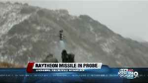 Raytheon missile mentioned in impeachment probe [Video]