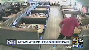 Attack at IHOP leaves behind pain [Video]