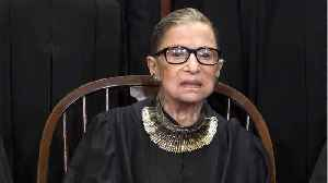 News video: Ruth Bader Ginsburg out of court due to illness