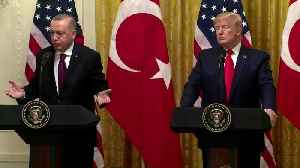 Trump thinks Erdogan has 'great relationship' with the Kurds [Video]