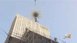 Rockefeller Christmas Tree Gets Its Star [Video]