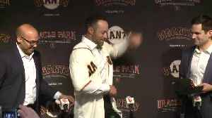 1/1 Interview With New Giants Manager Gabe Kapler [Video]