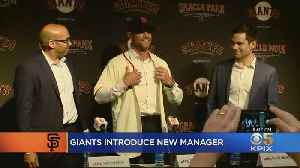 Controversy Surrounds Gabe Kapler's Introduction As SF Giants Manager [Video]