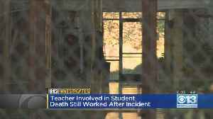 How Was The Teacher Charged In Max Benson's Death Still Teaching? [Video]