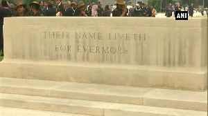 Prince Charles visits Delhi War Cemetery [Video]