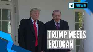 Donald Trump meets Turkey President Erdogan weeks after Syria crisis [Video]