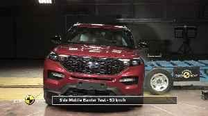 Ford Explorer - Crash Tests 2019 [Video]
