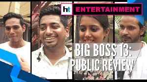 Bigg Boss 13 viewers bat for Arhaan, Rashami | Public review [Video]