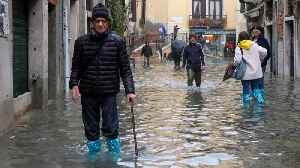 Italy's Venice flooded by highest tide in 50 years [Video]
