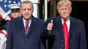 Watch: Erdogan visits Trump after US-Turkey diplomatic tension [Video]