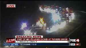 Crash blocking two lanes of northbound I-75 near Tucker's Grade early Thursday [Video]