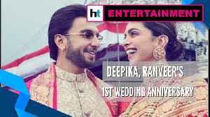 Watch: Deepika, Ranveer reach Tirumala to celebrate 1st wedding anniversary [Video]