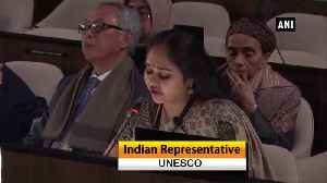 UNESCO General Conference India responds to Pakistan Minister propoganda on Kashmir Ayodhya [Video]