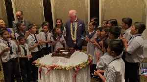 Charles enjoys birthday celebrations in Mumbai