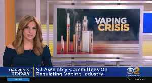 NJ Lawmakers To Convene On Vaping Crisis [Video]