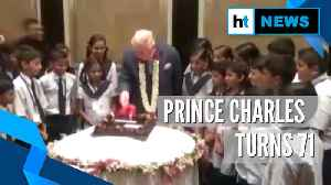 British Prince Charles turns 71, celebrates birthday with school kids in India [Video]