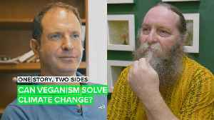 One Story Two Sides: Is veganism the answer to stopping climate change? [Video]