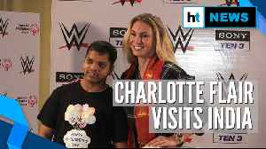 WWE's Charlotte Flair with Special Olympics Bharat team on Children's Day [Video]