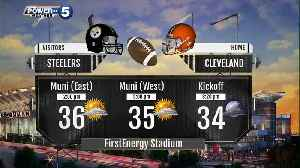 Forecast for the Browns vs. Steelers game today [Video]