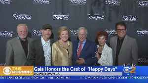 Cast Of 'Happy Days' Reunites In Burbank [Video]