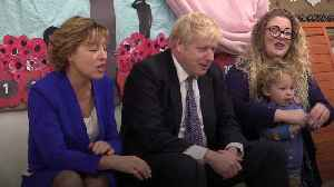 News video: Boris Johnson sings The Wheels On The Bus during school visit