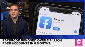 Facebook Removed Over 3 Billion Fake Accounts [Video]