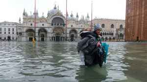 Climate change blamed as 85 percent of Venice under water [Video]
