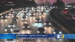 Thanksgiving 2019: AAA Expecting Second-Highest Travel Volume On Record [Video]