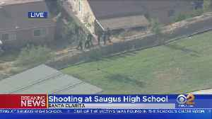 Saugus High School Shooter Described As Male Asian In Black Clothes [Video]