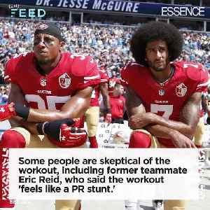 News video: Fans and Journalists Skeptical About Colin Kaepernick's NFL workout