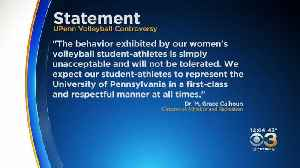 Penn Cancels Remainder Of Women's Volleyball Season After 'Vulgar, Offensive' Posters Found In Locker Room [Video]