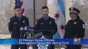 Officers Recognized For Saving Boy From Burning Car [Video]