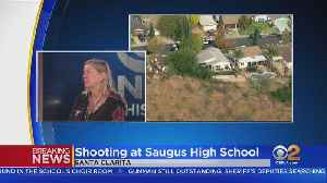'I Can't Stop Crying': CBS2 Investigative Producer Worries For Son After Saugus High Shooting [Video]