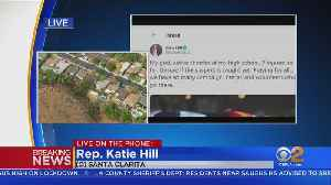 Former Santa Clarita Representative and Saugus High Alum, Katie Hill Talks To CBS2 [Video]