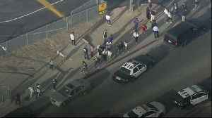 Five injured in California high school shooting
